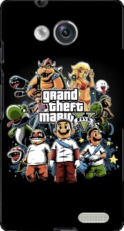 Grand Theft Mario Case for Huawei Ascend Mate
