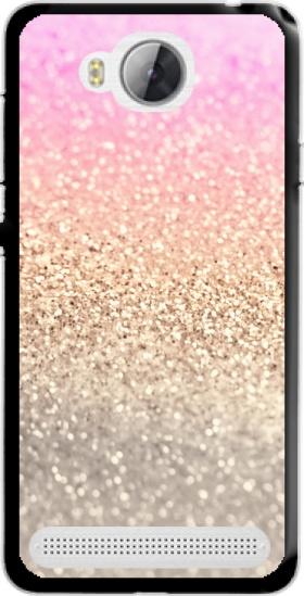 size 40 13b64 ce6ec Gatsby Glitter Pink case for Huawei Y3 II