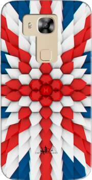 3D Poly Union Jack London flag Case for Huawei G8