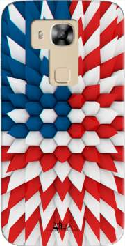 3D Poly USA flag Case for Huawei G8