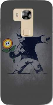 Banksy Flower bomb Case for Huawei G8