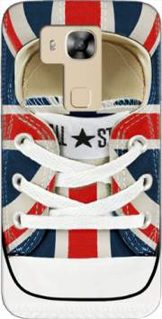 All Star Basket shoes Union Jack London Case for Huawei G8