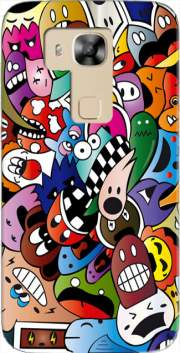Cartoon Case for Huawei G8