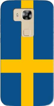 Flag Sweden Case for Huawei G8