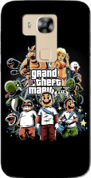 Grand Theft Mario Case for Huawei G8