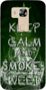 Keep Calm And Smoke Weed Case for Huawei G8