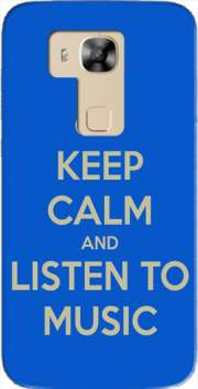 Keep Calm And Listen to Music Case for Huawei G8