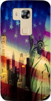 Statue of Liberty Case for Huawei G8