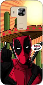 Mexican Deadpool Case for Huawei G8