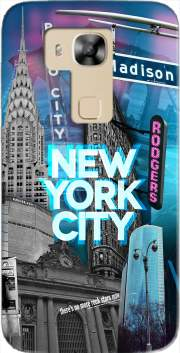 New York City II [blue] Case for Huawei G8
