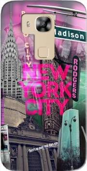 New York City II [pink] Case for Huawei G8