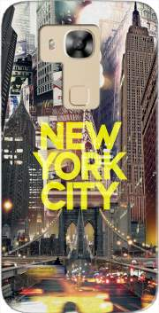 New York City II [yellow] Case for Huawei G8