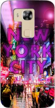 New York City - Broadway Color Case for Huawei G8