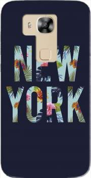New York Floral Case for Huawei G8