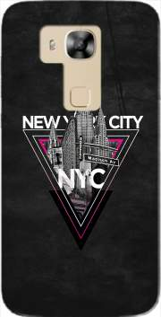 NYC V [pink] Case for Huawei G8
