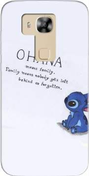 Ohana Means Family Case for Huawei G8