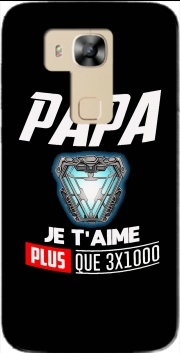 Papa je taime plus que 3x1000 Case for Huawei G8