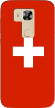 Switzerland Flag Case for Huawei G8