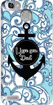 Blue Water - I love you Dad Case for Huawei G8 Mini GR3 / Enjoy 5S