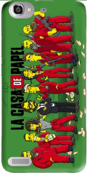 Casa de papel mashup Simpson Case for Huawei G8 Mini GR3 / Enjoy 5S