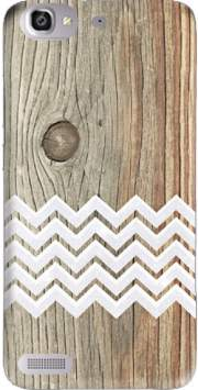 Chevron on wood Case for Huawei G8 Mini GR3 / Enjoy 5S
