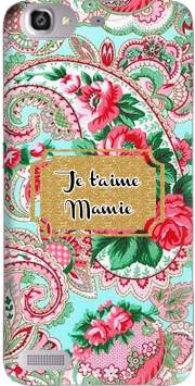 Floral Old Tissue - Je t'aime Mamie Case for Huawei G8 Mini GR3 / Enjoy 5S