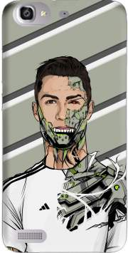 Football Legends: Cristiano Ronaldo - Real Madrid Robot Case for Huawei G8 Mini GR3 / Enjoy 5S
