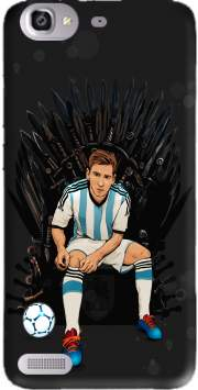 Game of Thrones: King Lionel Messi - House Catalunya Case for Huawei G8 Mini GR3 / Enjoy 5S