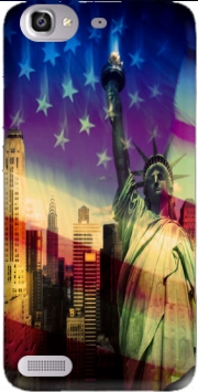 Statue of Liberty Case for Huawei G8 Mini GR3 / Enjoy 5S