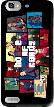 Mashup GTA and House of Cards Case for Huawei G8 Mini GR3 / Enjoy 5S