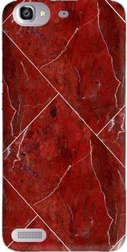 Minimal Marble Red Case for Huawei G8 Mini GR3 / Enjoy 5S