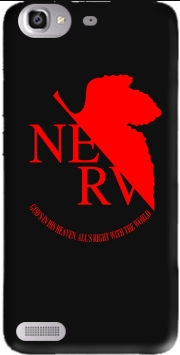 Nerv Neon Genesis Evangelion Case for Huawei G8 Mini GR3 / Enjoy 5S