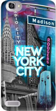New York City II [blue] Case for Huawei G8 Mini GR3 / Enjoy 5S
