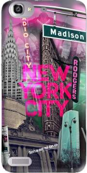 New York City II [pink] Case for Huawei G8 Mini GR3 / Enjoy 5S