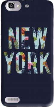 New York Floral Case for Huawei G8 Mini GR3 / Enjoy 5S