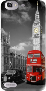 Red bus of London with Big Ben Case for Huawei G8 Mini GR3 / Enjoy 5S