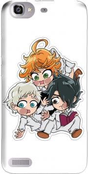 The Promised Neverland Emma Ray Norman Chibi Huawei G8 Mini GR3 / Enjoy 5S Case