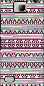 Aztec Pink And Mint Case for Huawei Honor 3C