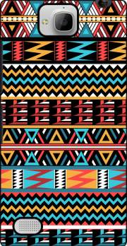 aztec pattern red Tribal Case for Huawei Honor 3C