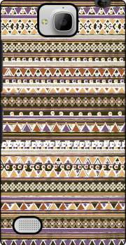 Brown aztec native bandana Case for Huawei Honor 3C