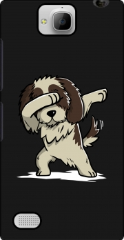 Dog Shih Tzu Dabbing Huawei Honor 3C Case