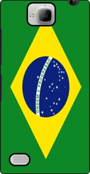 Flag Brasil Case for Huawei Honor 3C
