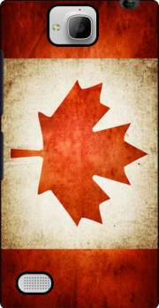 Canadian Flag Vintage Case for Huawei Honor 3C