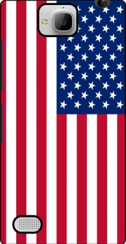 Flag United States Case for Huawei Honor 3C
