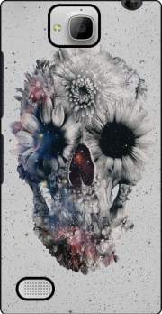 Floral Skull 2 Case for Huawei Honor 3C