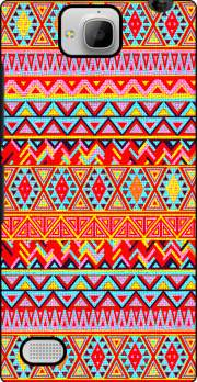 India Style Pattern (Multicolor) Huawei Honor 3C Case