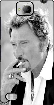 johnny hallyday Smoke Cigare Hommage Case for Huawei Honor 3C