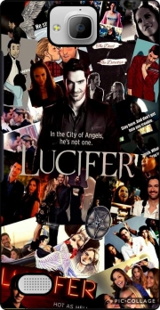 Lucifer Collage Huawei Honor 3C Case