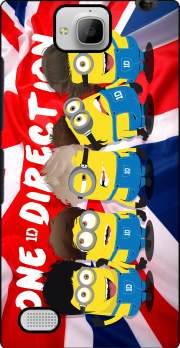Minions mashup One Direction 1D Case for Huawei Honor 3C