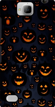 Scary Halloween Pumpkin Huawei Honor 3C Case